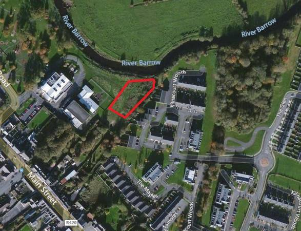 Approx. 0.766 Acres of Zoned Land, Portarlington, Co. Laois.