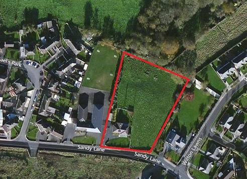 ZONED DEVELOPMENT LAND with Residence, Sandylane, Portarlington, Laois